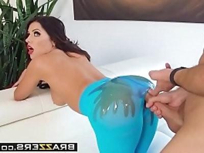 exxtra the ass on adriana scene starring adriana chechik keiran lee