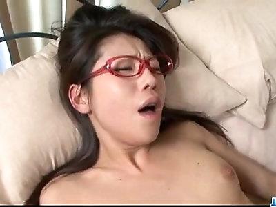 Mizuki Ogawa lovely babe cock in