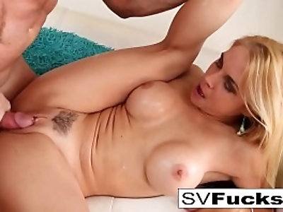 Hot fucking with Sarah Vandella and her Russian stud