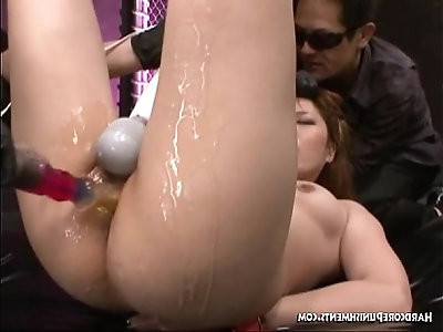 Hardcore Uncensored Japanese BDSM Sex Chihiro