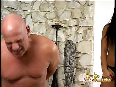 Stunning Asian bombshell Christina Aguchi has some fun with horny dude