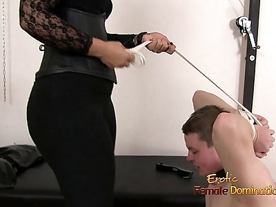 Mistress Dominating A Loser With Her Big Butt
