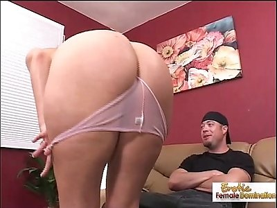Oiled up bubble but slut rocked hard on the couch