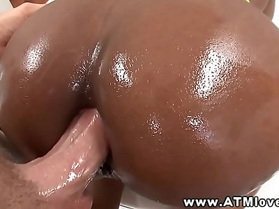 Persia B begs for ass to mouth fuck