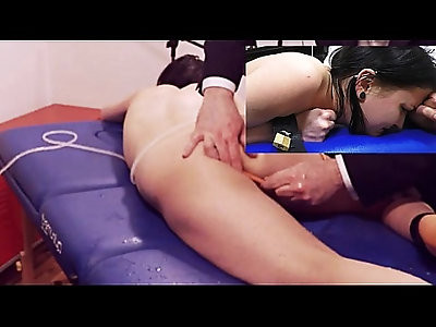 Miss April Takes a Painful Enema with a Series of Challenging Colon Tubes