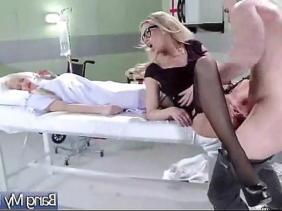 Hard Sex Between horny Doctor And Hot Patient jessa rhodes video 19