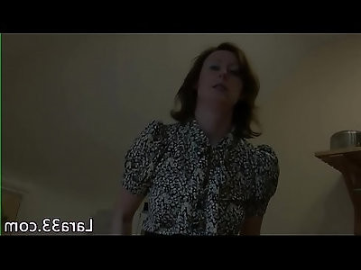 UK milf facialized after being fucked in fishnets