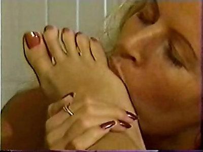 Blond Twins Foot Fetish Toe Sucking Hana Monica pt