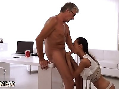 Small girl old man and naughty daddy spank fuck Finally shes got her