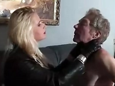 Leather Faceslap