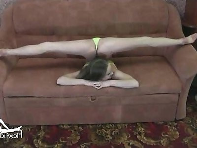 Contortionist Tanya On The Couch