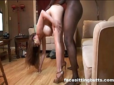 Super hung black stud tries porn for the first time