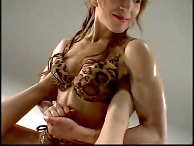 Emi Tojo Sexy Mixed Wrestling Holds