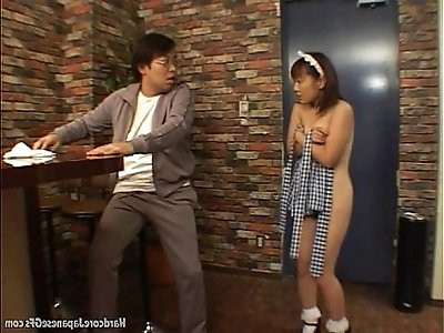 Japanese Maid Fucked And Cumloaded