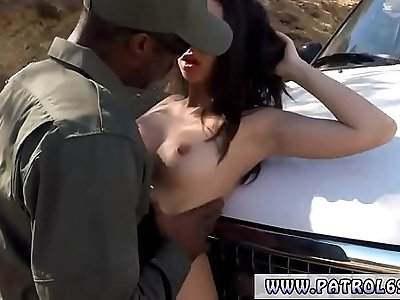Fake taxi threesome police and sexy big tit cop Latina Fucked By