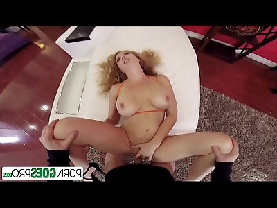 PornGoesPro Big booty Kiki Daire gets her ass fucked by a monster cock, big boobs