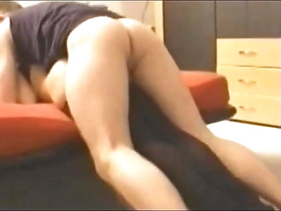 hot milf gets painful anal on real homemade